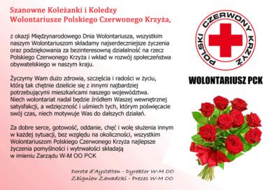 Międzynarodowy Dzień Wolontariusza