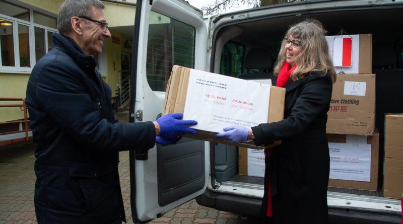 Pomoc z Chin dla Olsztyna
