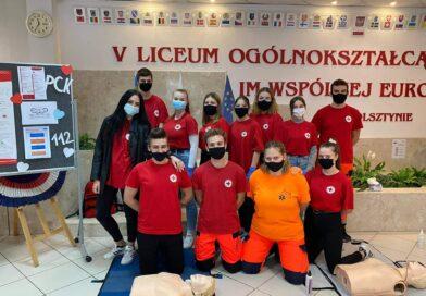 Szkolne Koło PCK w V LO Olsztyn