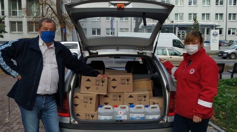Pomoc dla szpitali w Węgorzewie i Olsztynie